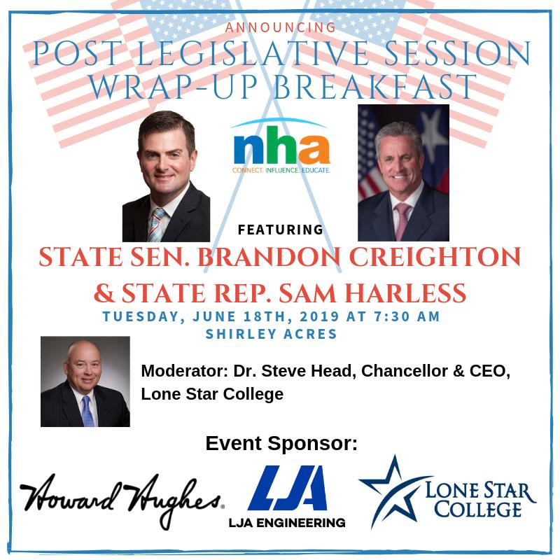 Post-Legislative Session Breakfast