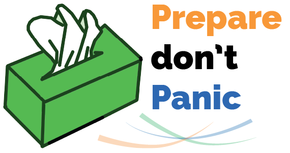 Prepare but don't panic: