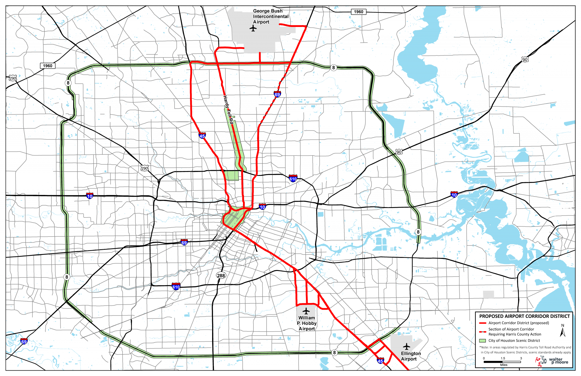 Houston Airport Corridor Districts Get New Signage Ruling