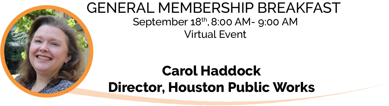 NHA Host's Carol Haddock for Membership Breakfast