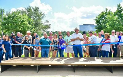 The newest part of the Spring Creek Greenway Trail is now open!